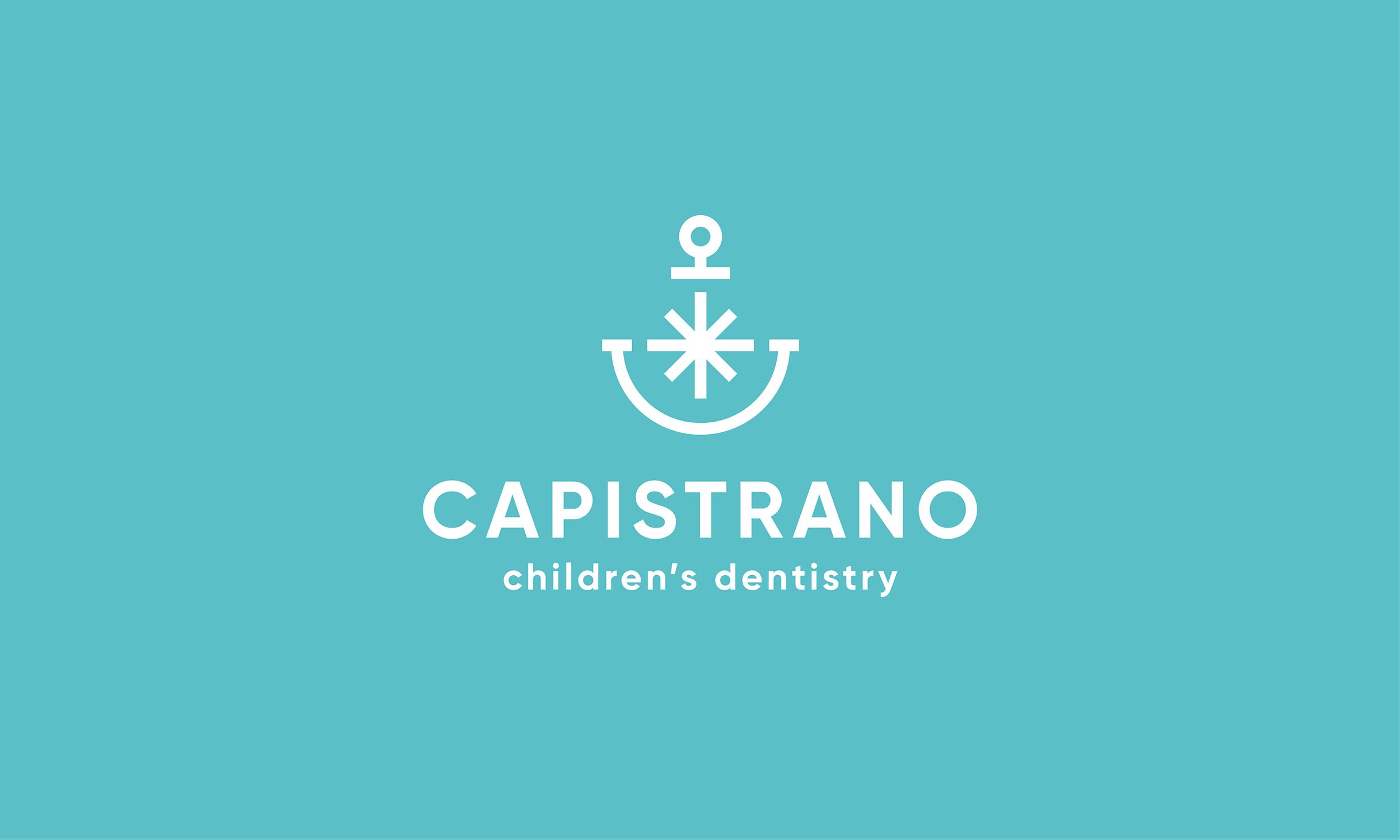 Capistrano-Childrens-Dentistry-Logo-Design-Freelance-Graphic-Designer-Margate-Kent-Presentation-Pediatric-Dental-Logo