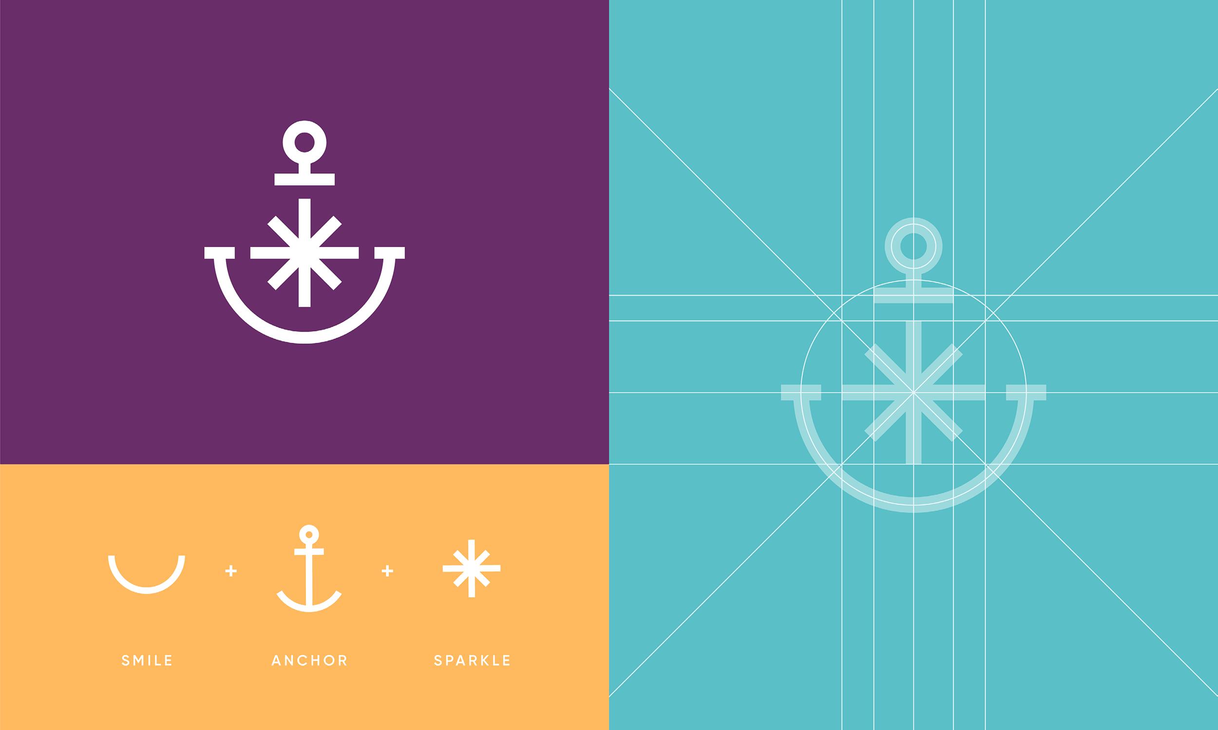 Capistrano-Childrens-Dentistry-Logo-Design-Freelance-Graphic-Designer-Margate-Kent-Presentation-Pediatric-Dental-Logo-Grid