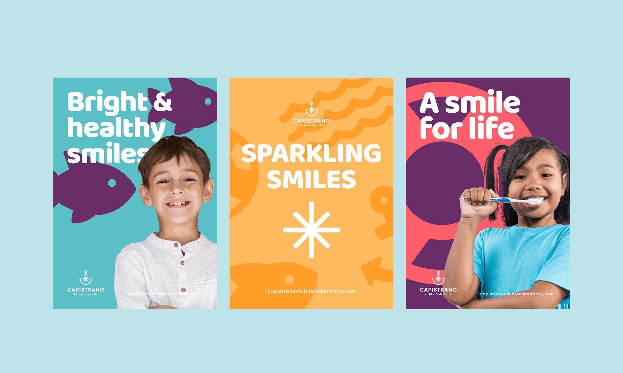 Capistrano-Childrens-Dentistry-Logo-Design-Freelance-Graphic-Designer-Margate-Kent-Presentation-Pediatric-Dental-Adverts