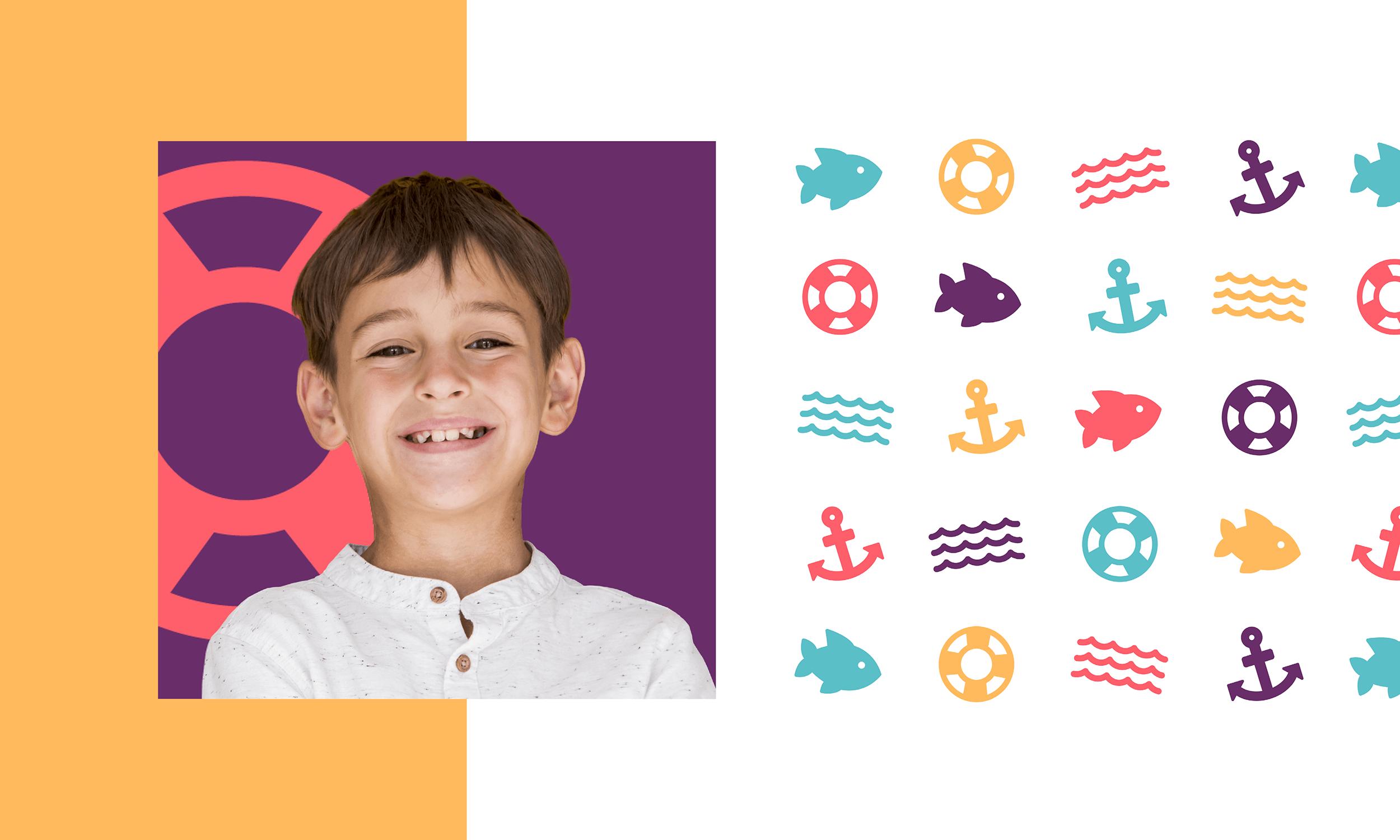 Capistrano-Childrens-Dentistry-Logo-Design-Freelance-Graphic-Designer-Margate-Kent-Presentation-Pediatric-Dental-Icons