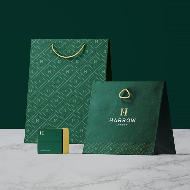Harrow Menswear Branding 👔