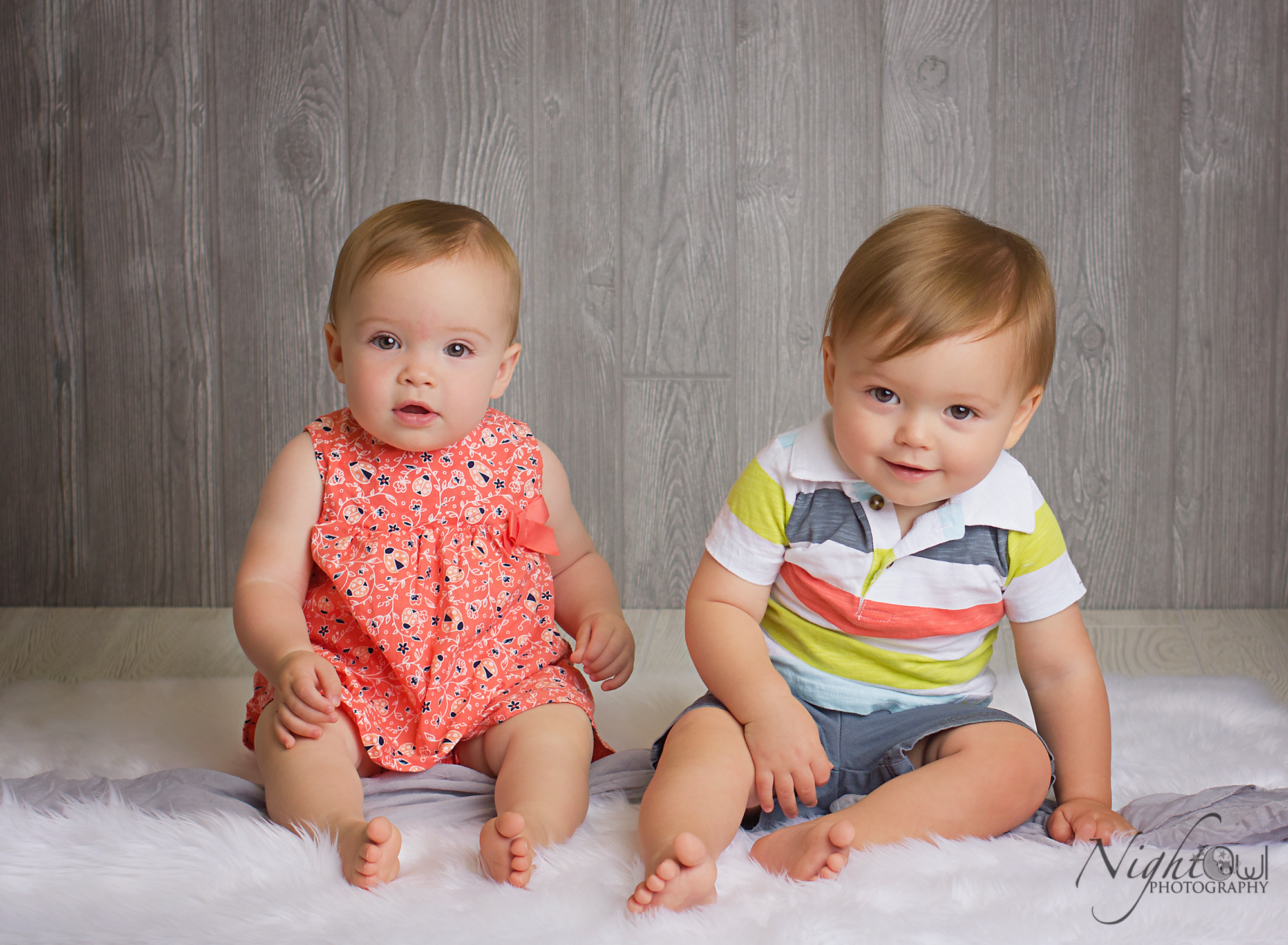 twin 1 year olds