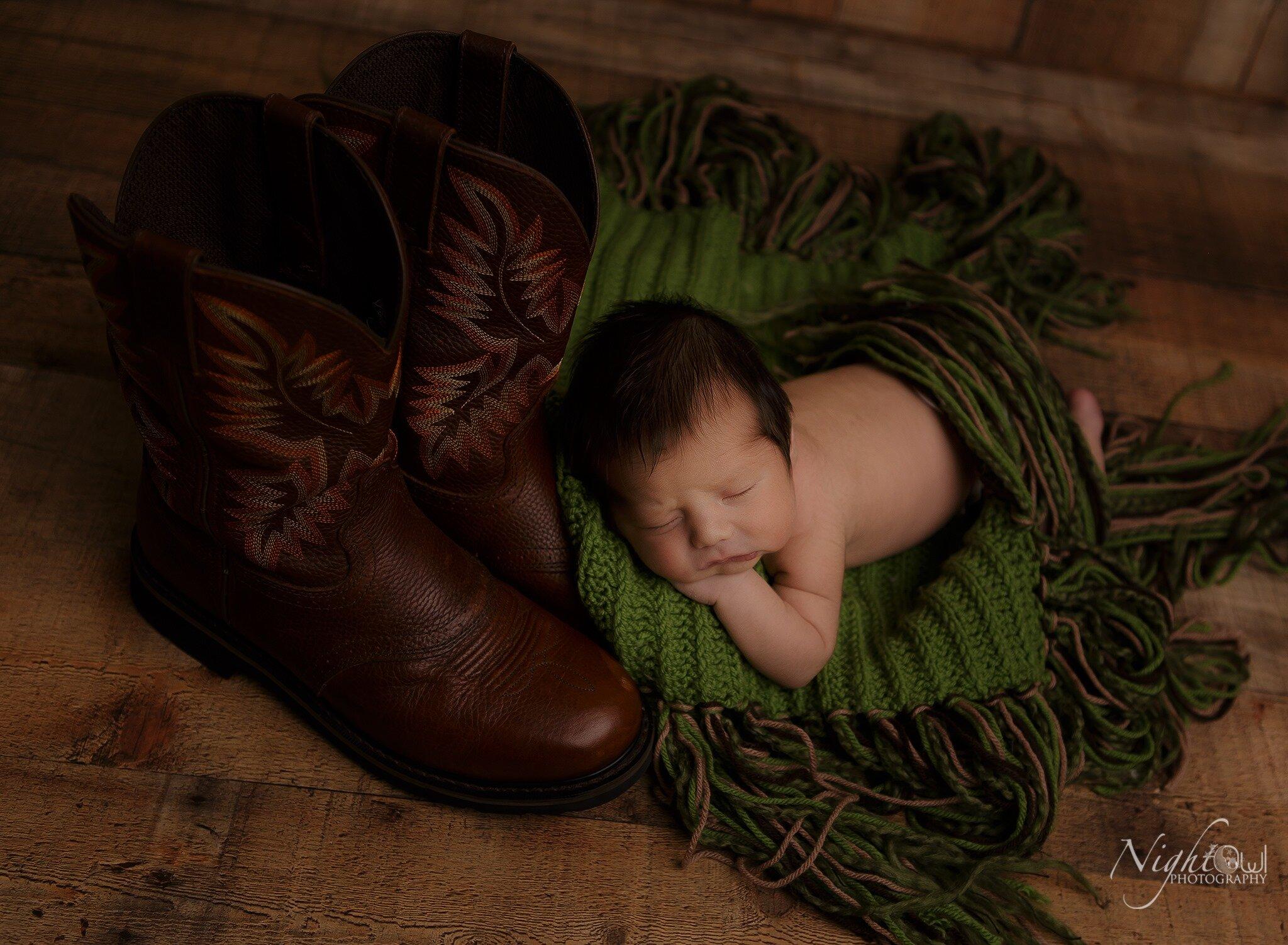 St. joseph Michigan newborn photography studio