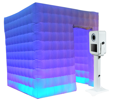 Rent the Cube! - Rent our Inflatable LED Photo Booth Cube! With the option to keep it white or add some color, this booth is guaranteed to make your party even better!