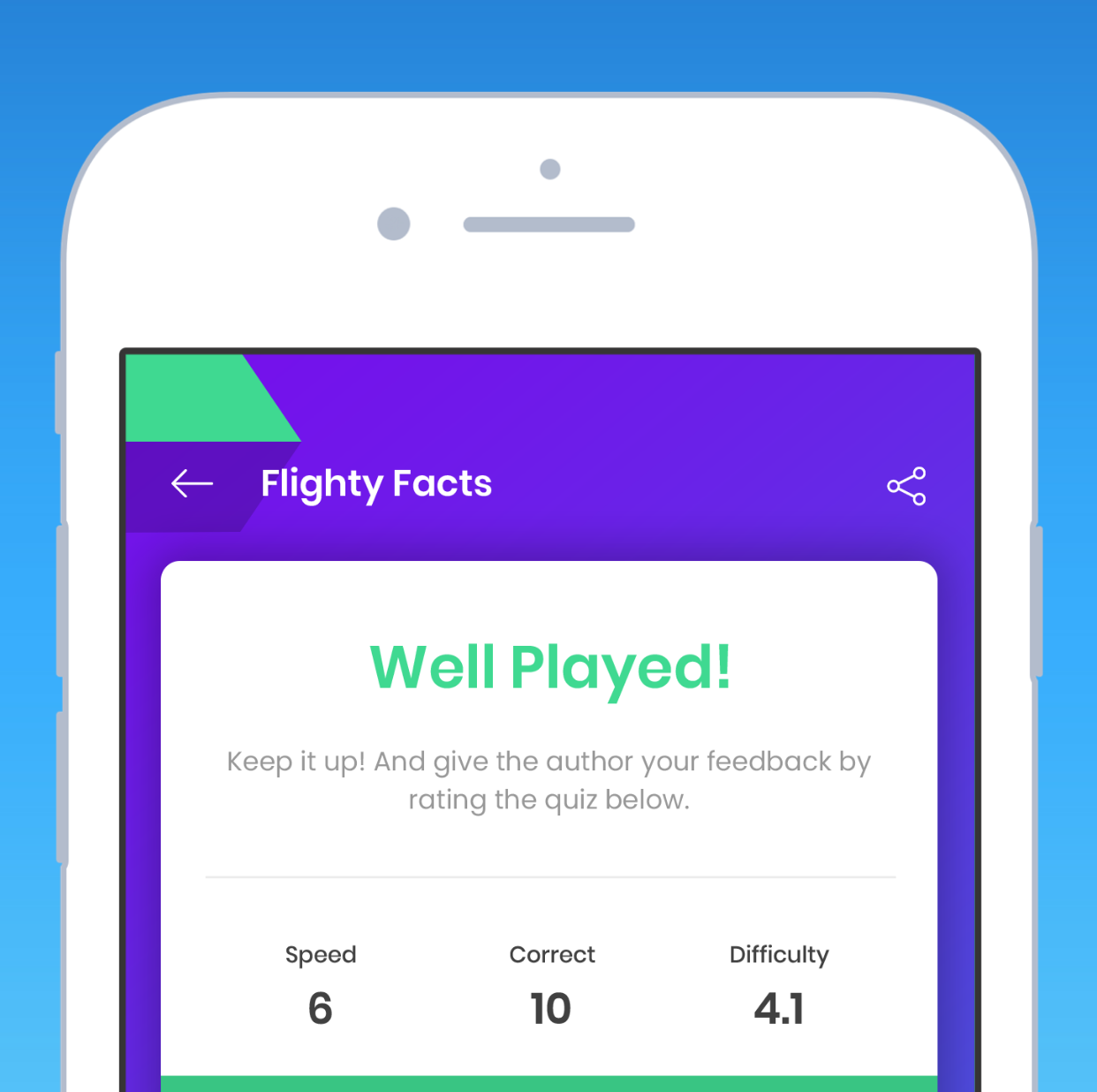 Endless Trivia - More than 100,000 trivia quizzes ranging in difficulty from beginner to expert, and more than 250 game categories.