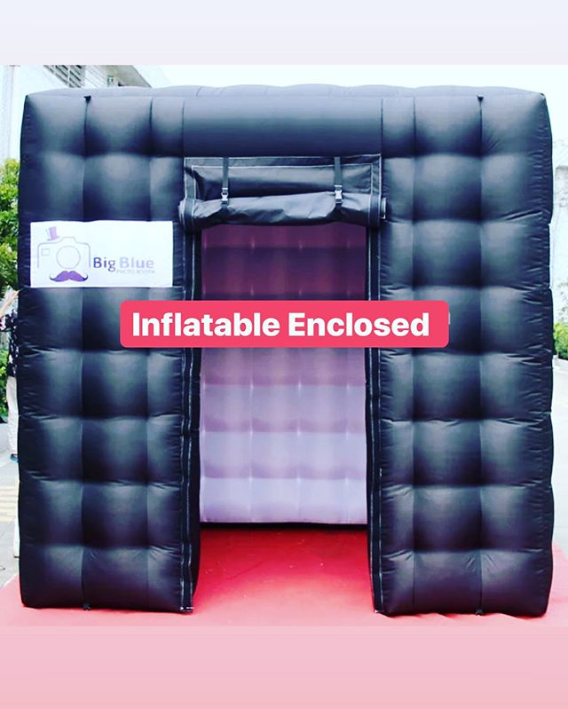 Inflatable Enclosed, the Hottest Photo Booth on the market‼️