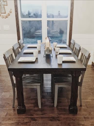 Custom Wood table Missouri