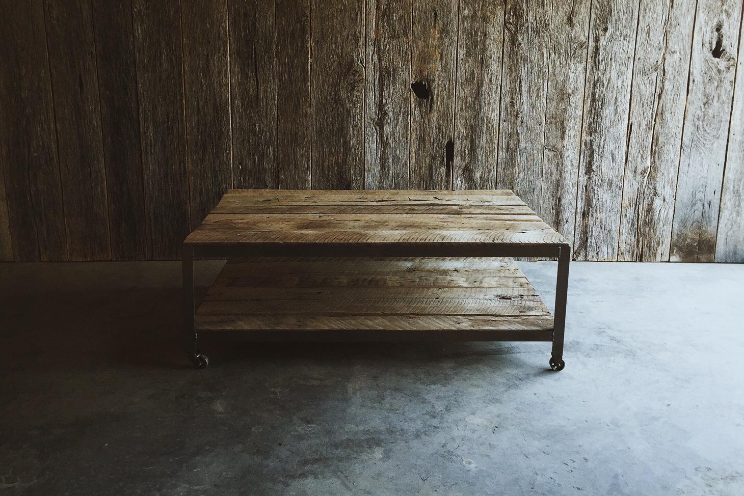 reclaimed wood coffee table springfield mo