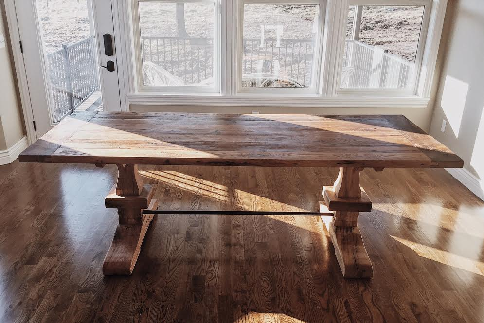 reclaimed wood table Springfield Missouri