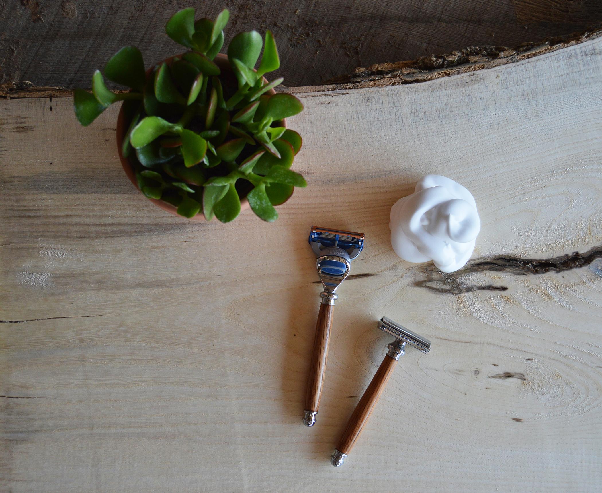 wood razors