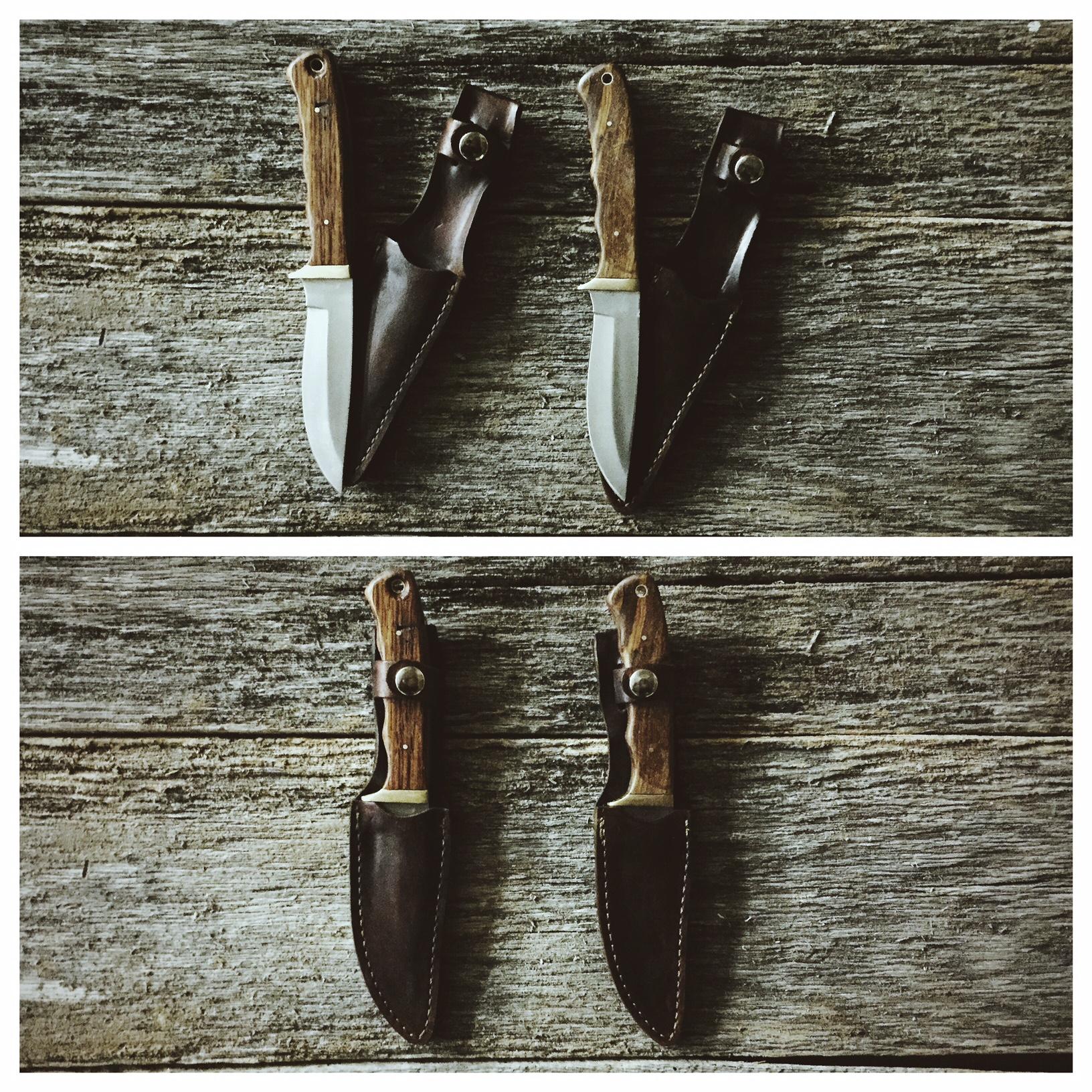 wood knives