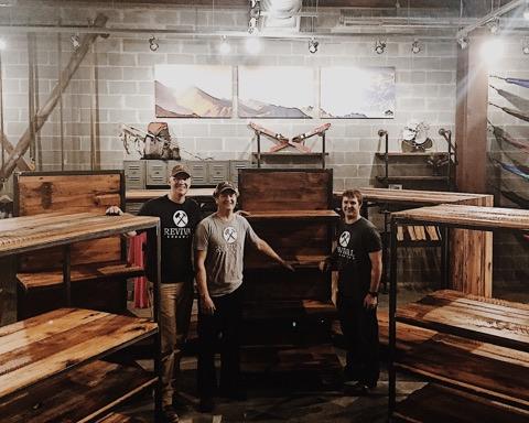 reclaimed wood shelves branson missouri