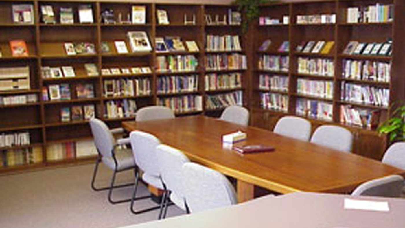 Library - Located near the welcome centre we have a library full of resources.More
