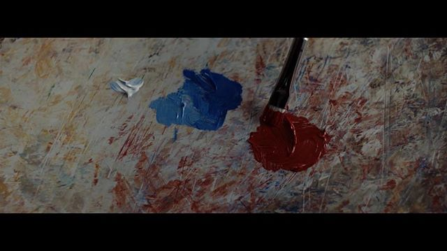 A frame grab from the HNIC opening that aired on January 7th 2017. . . DP: @camerapointer . . #hnic #hockeynight #hockeynightincanada #art #painter #canvas #canvasart #canvaspainting #red #blue #habs #leafs #rivals #cinematography #storytelling #montreal #toronto #paintbrush
