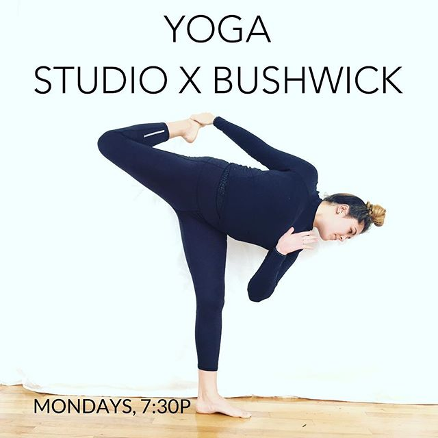 Join us tonight and every Monday (7:30pm) for a restorative flow in the studio! Led by @alexandra_tse_ ✨$7-17, sliding scale. Mats included!✨ 1099 Flushing Ave, studio 307 — #nycyogi #nycyoga #communityclass #yoga #restorativeyoga #loveyourself #investinyourself