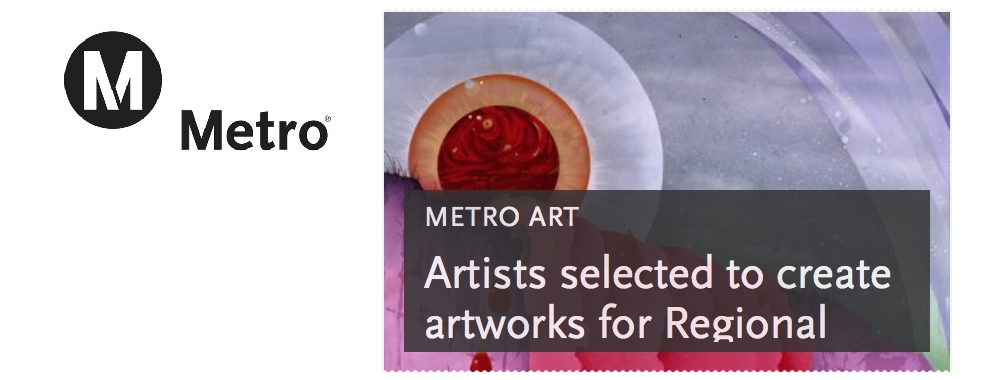 October 2016:  Artist selection announced for Regional Connector project...
