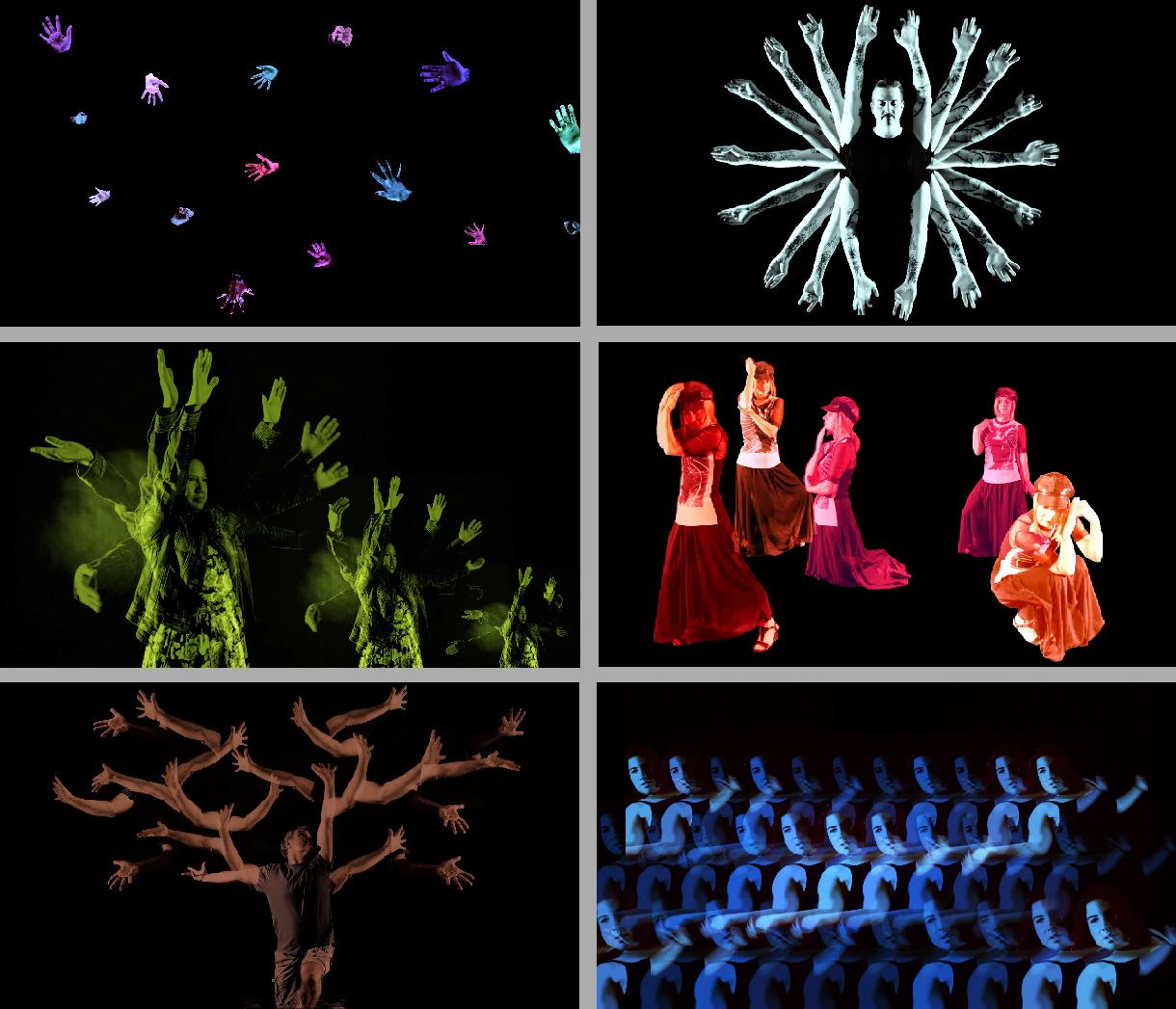 Original Face (stills), 2014, color video with sound