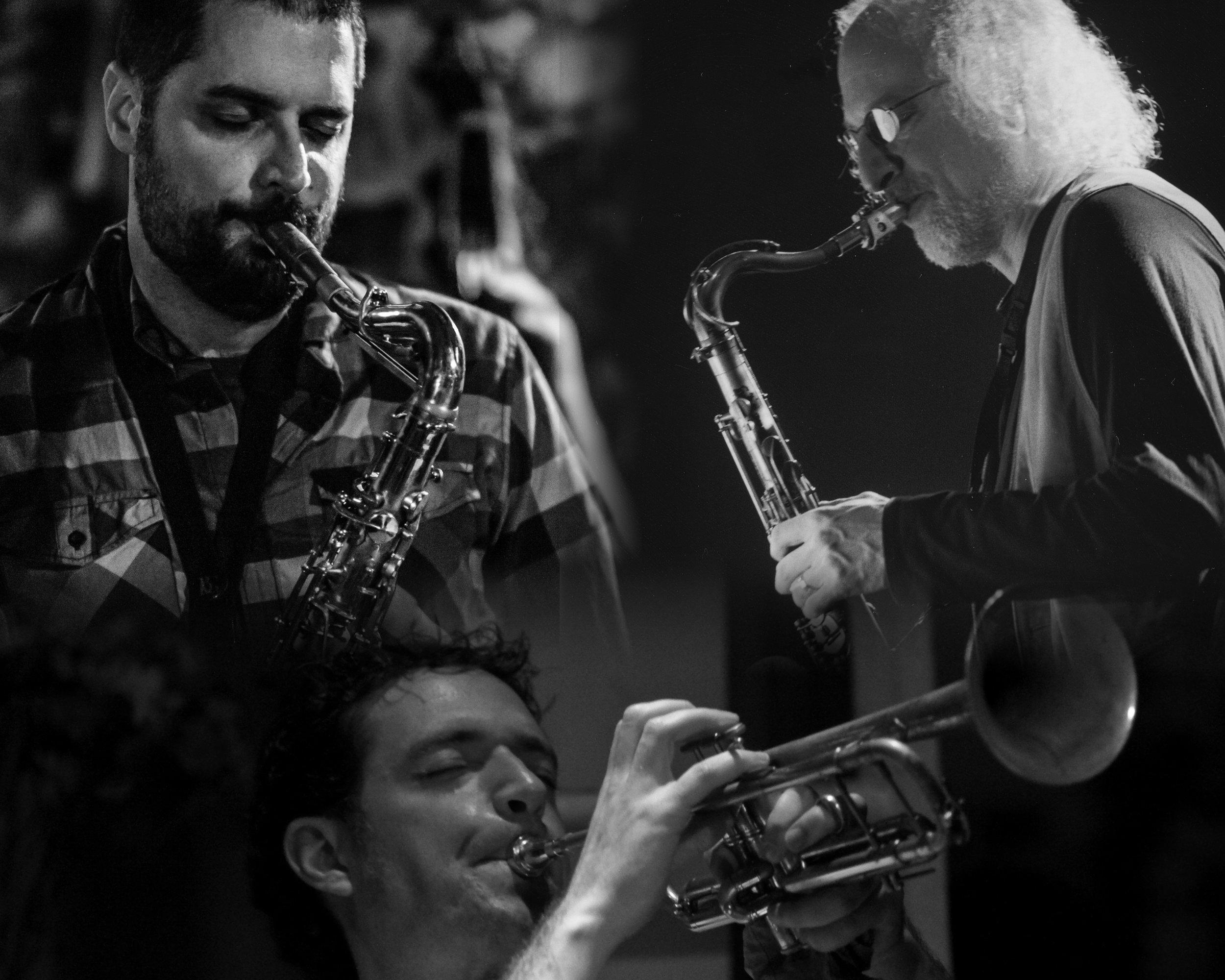 - Dave Rempis - alto/baritone saxophonesDarren Johnston - trumpetLarry Ochs - tenor/sopranino saxophones