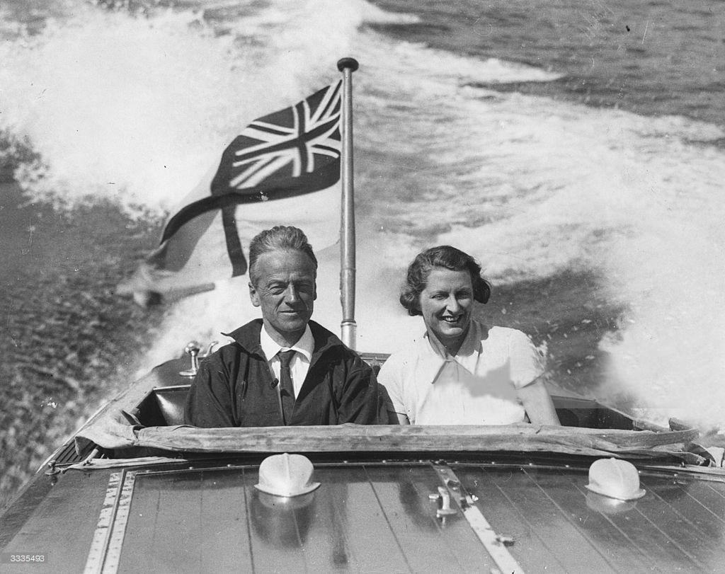 Walter Moyne and Vera Broughton