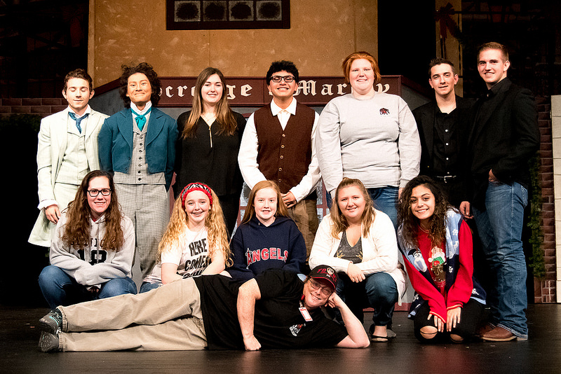 The behind the scenes crew. This group put in as much work as the actors (yes, some were actors) but don't normally get the recognition they deserve. Being able to hear the actors, see the actors, and have things like fog on stage... great work done by this group!