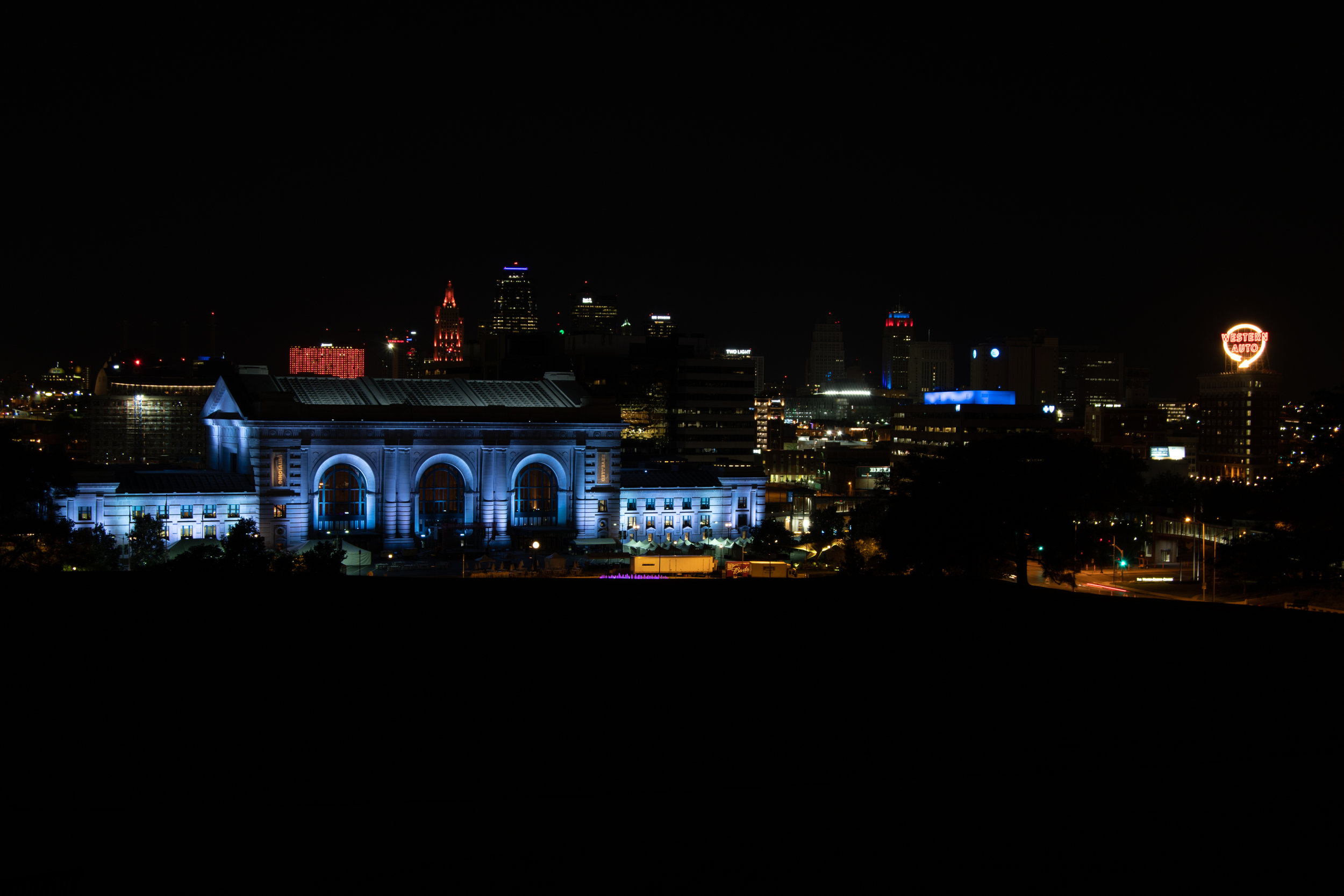 Downtown Kansas City at Night
