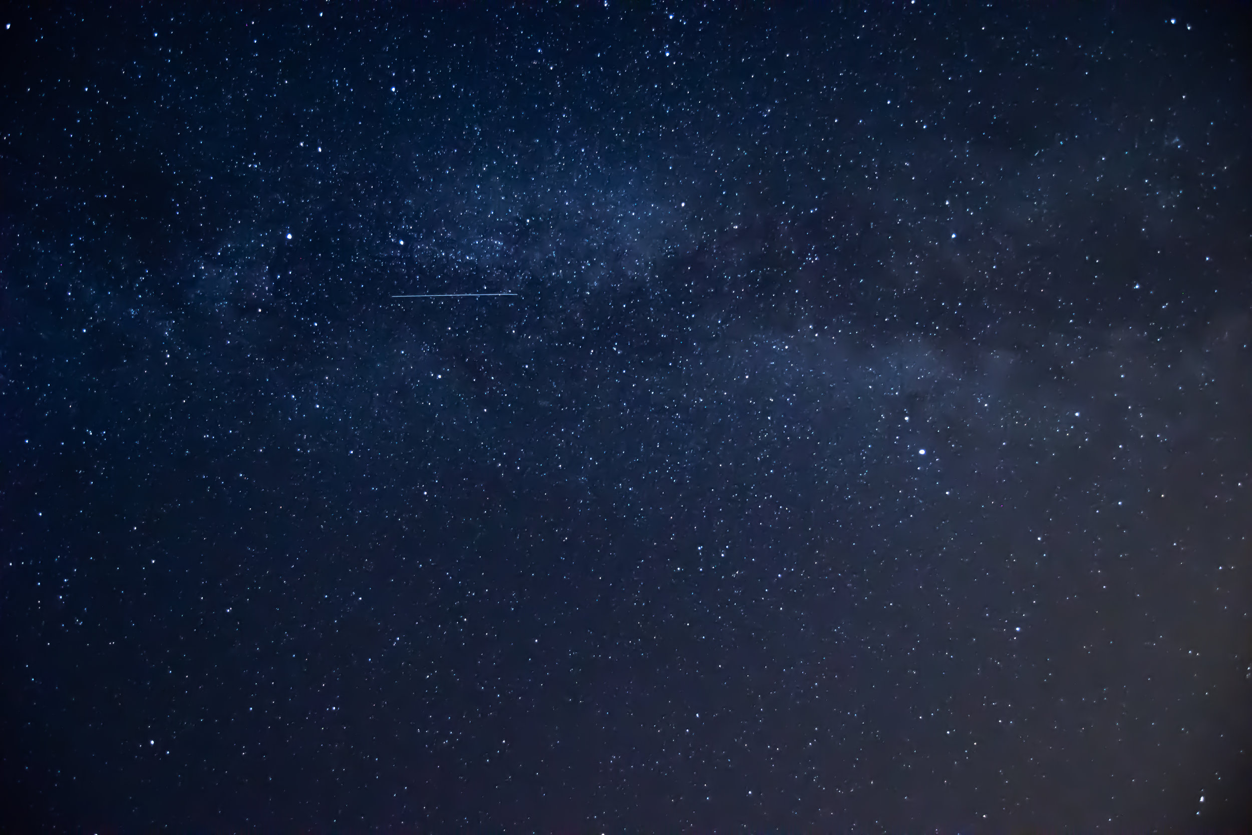 A Year of Milky Way Photos (and Perseid Meteors)