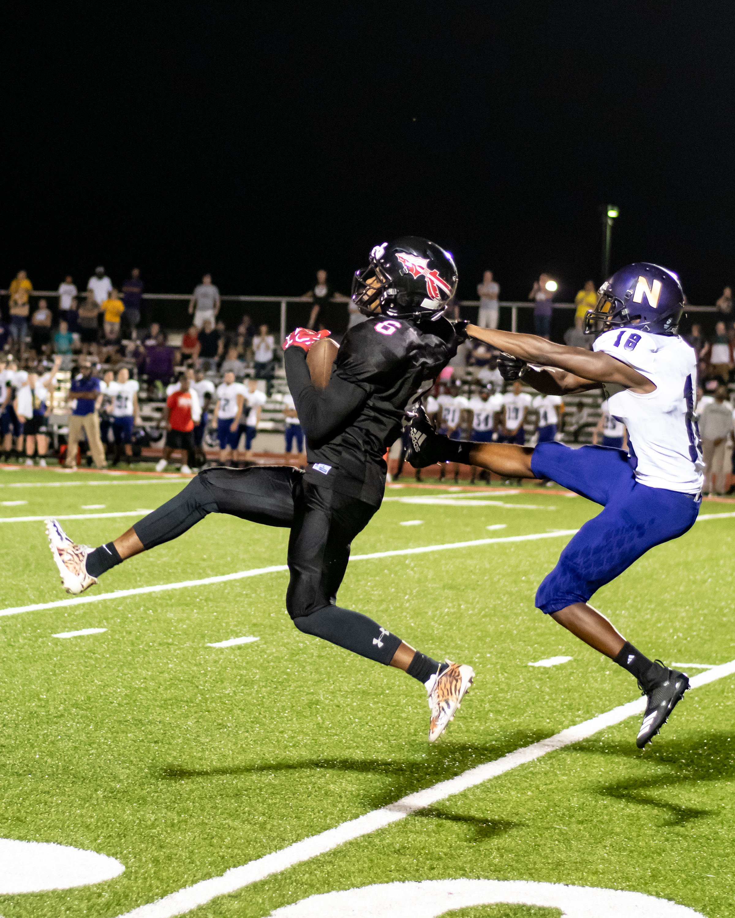 Interception on Homecoming