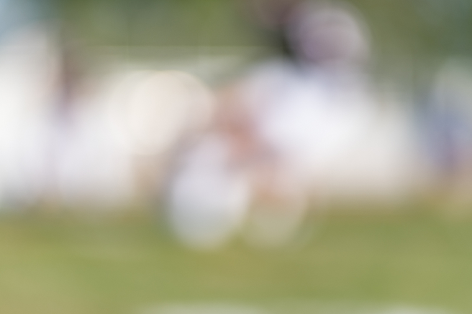 I know you won't believe me, but there is a football player running with the ball in this image…