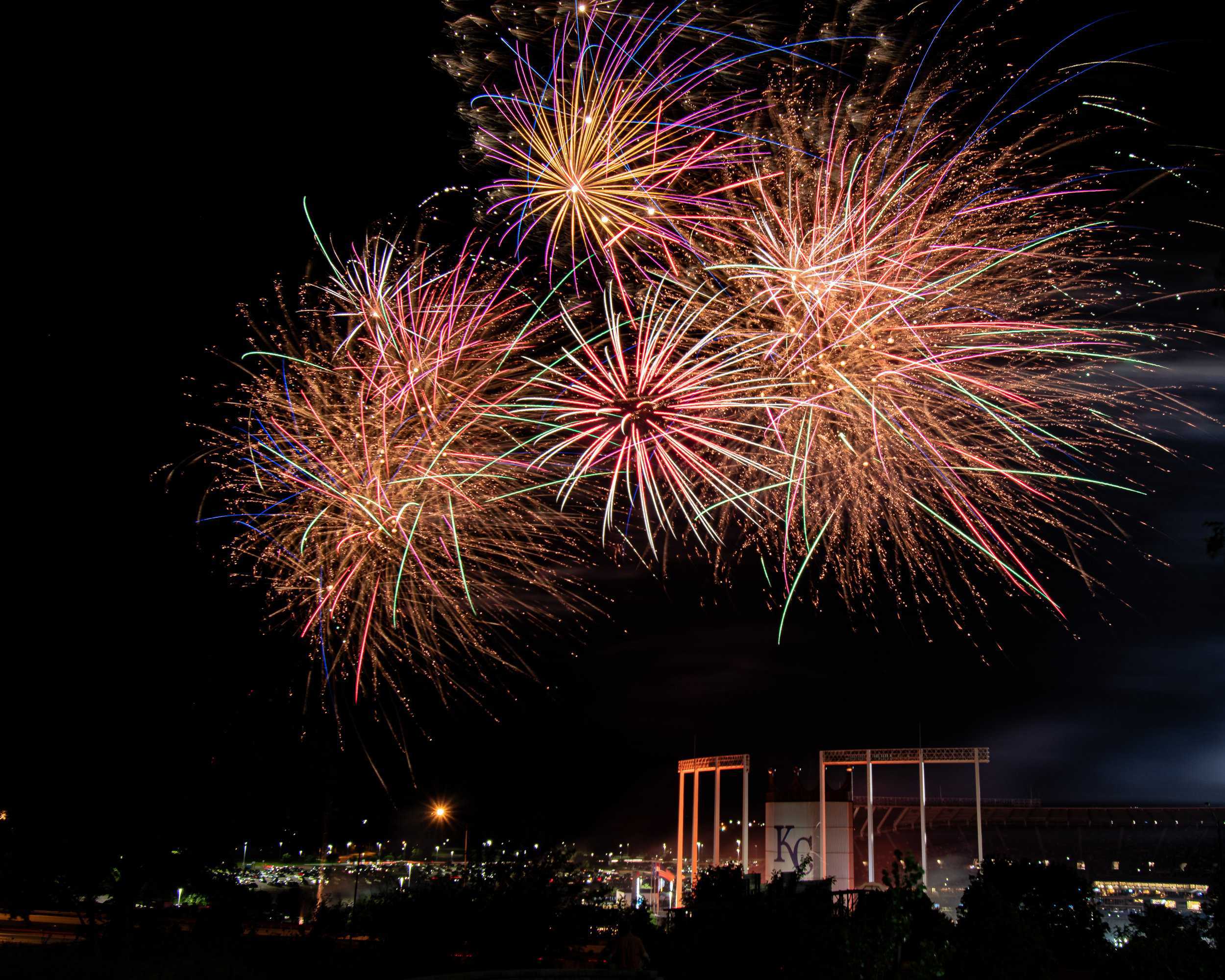 "Friday Fireworks at ""The K"""