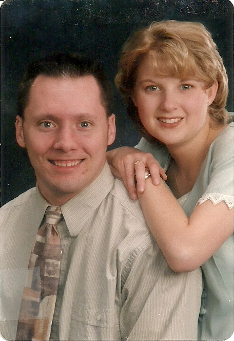 A portrait from just before we were married.