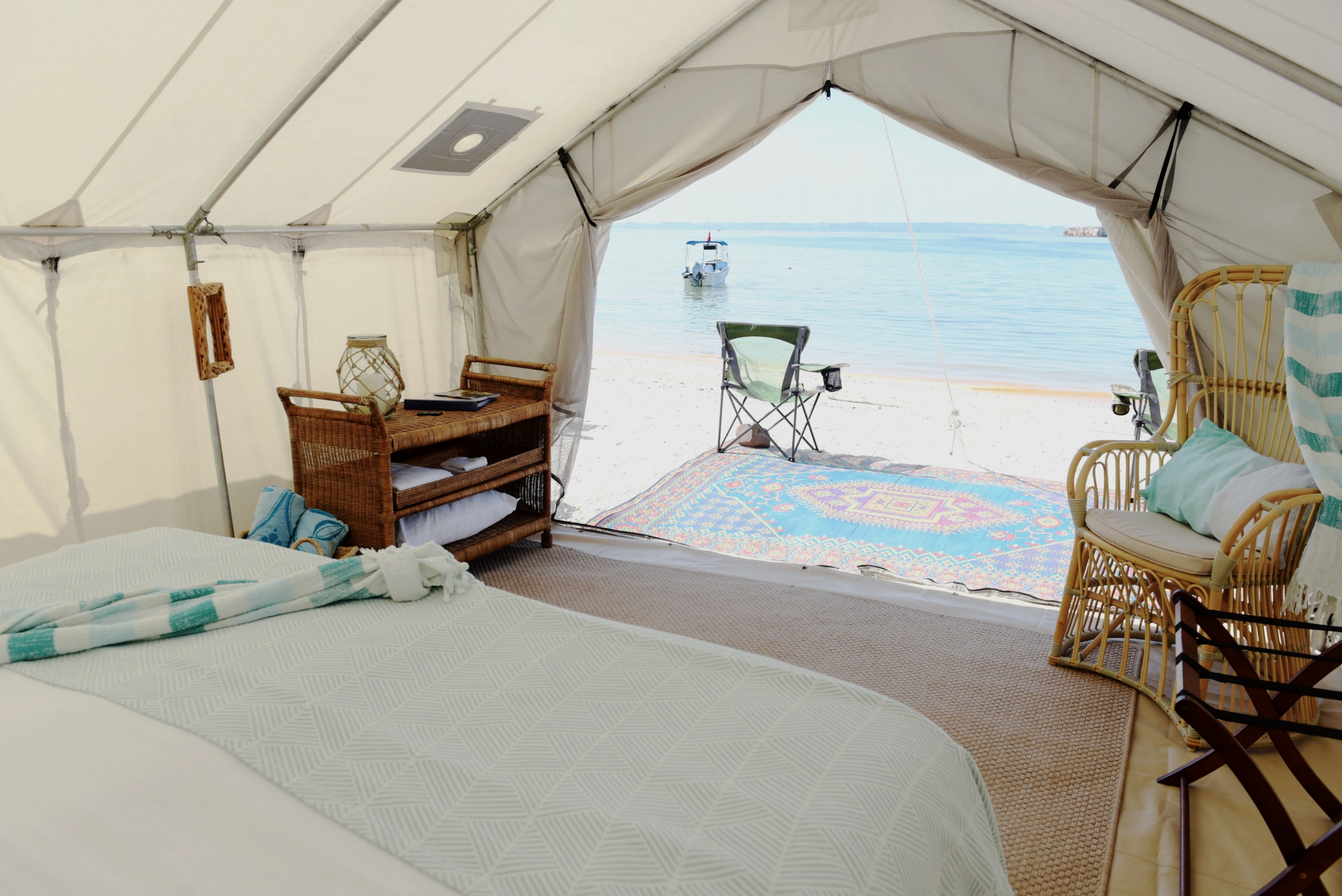 Glamping on Espiritu Santo