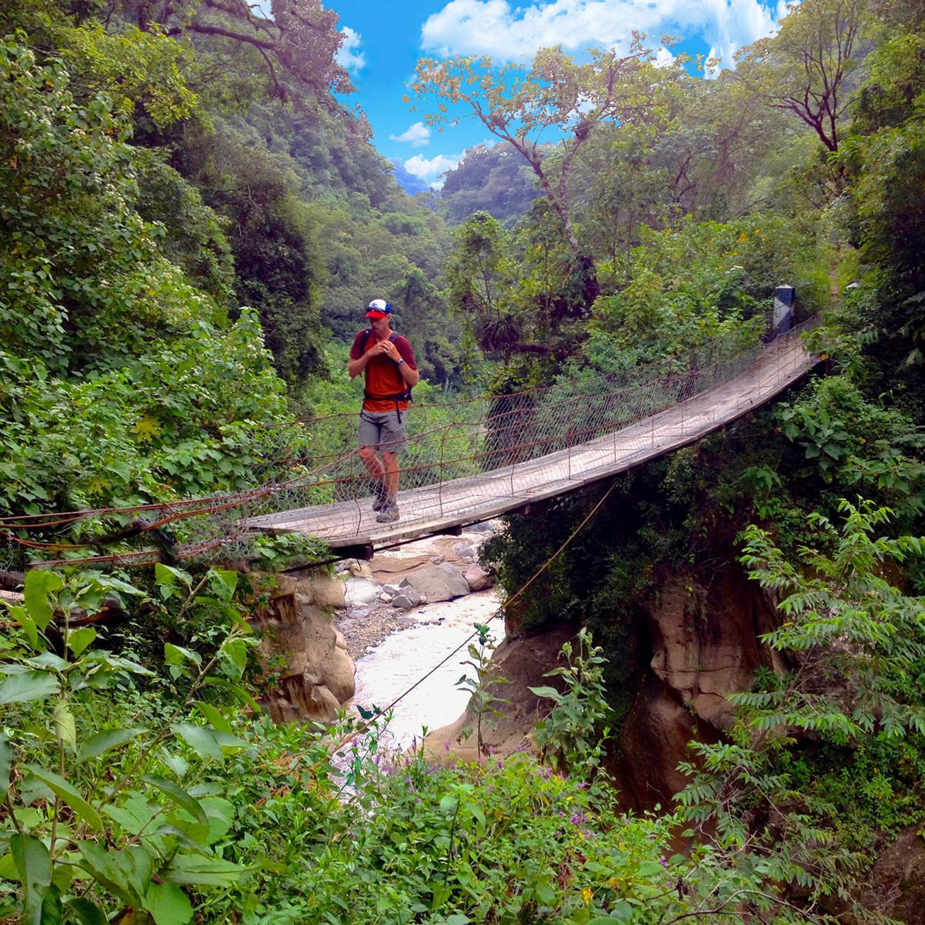 Mayan Community Glamping Trek - Hanging Bridge.jpg