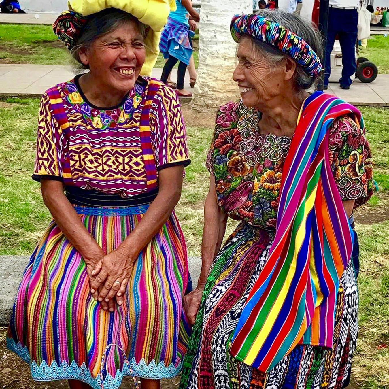 Mayan Community Glamping Trek - Mayan Women Smiling.jpg