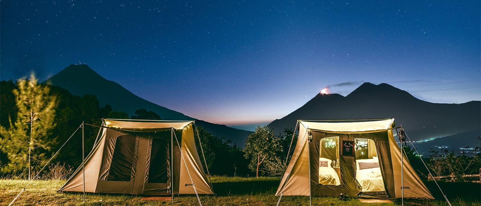 Mayan HighlandsGuatemala - A Glamping Adventure:Hike from Antigua to Lake Atitlan: