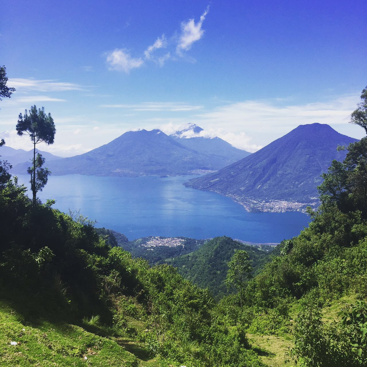 Take in the views of Lake Atitlan as your hike comes to an end.   Meals:  B, L 