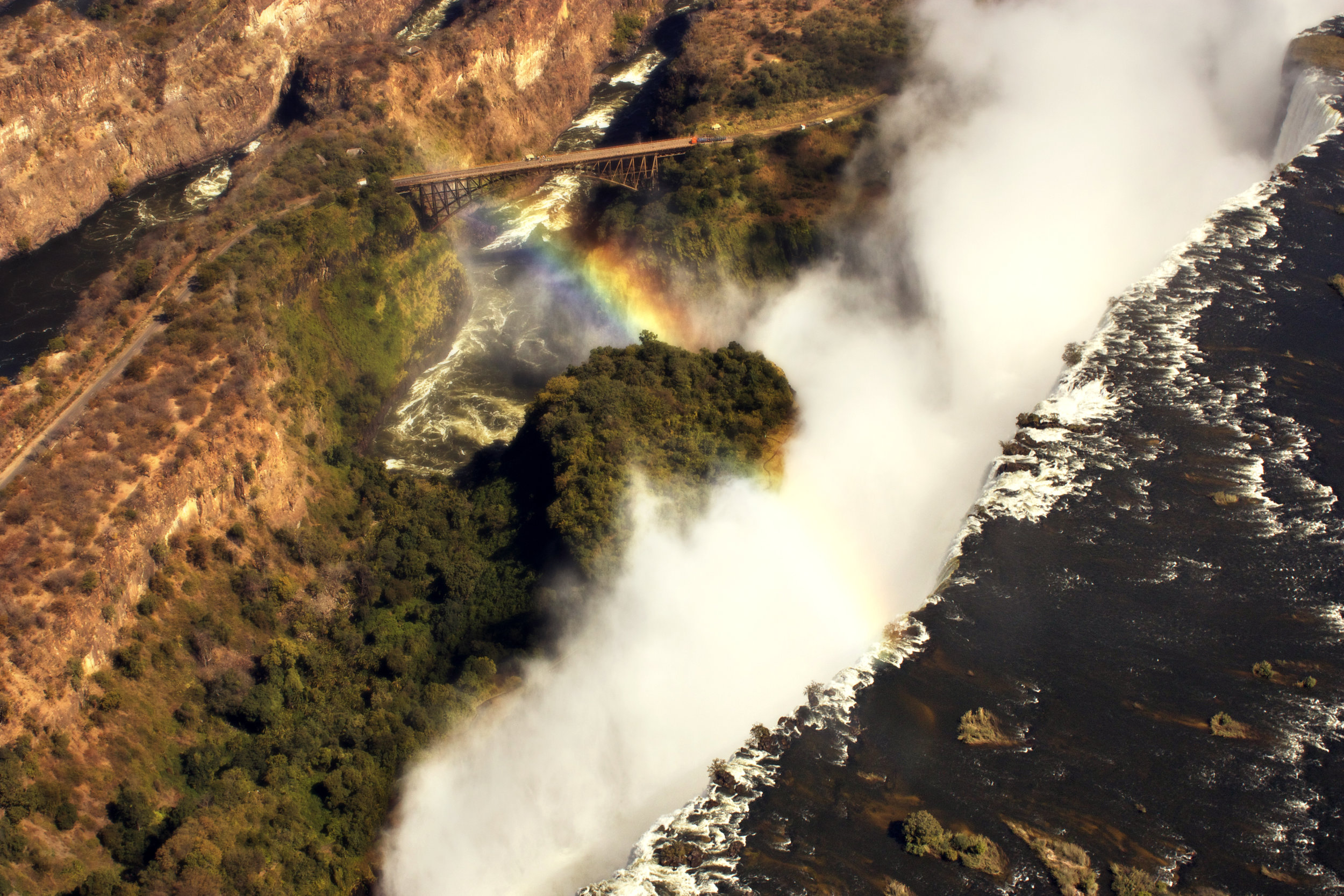 7. Imvelo Safari Lodges - Gorges Lodge - Victoria Falls Helicopter flip activity near Gorges Lodge.jpg