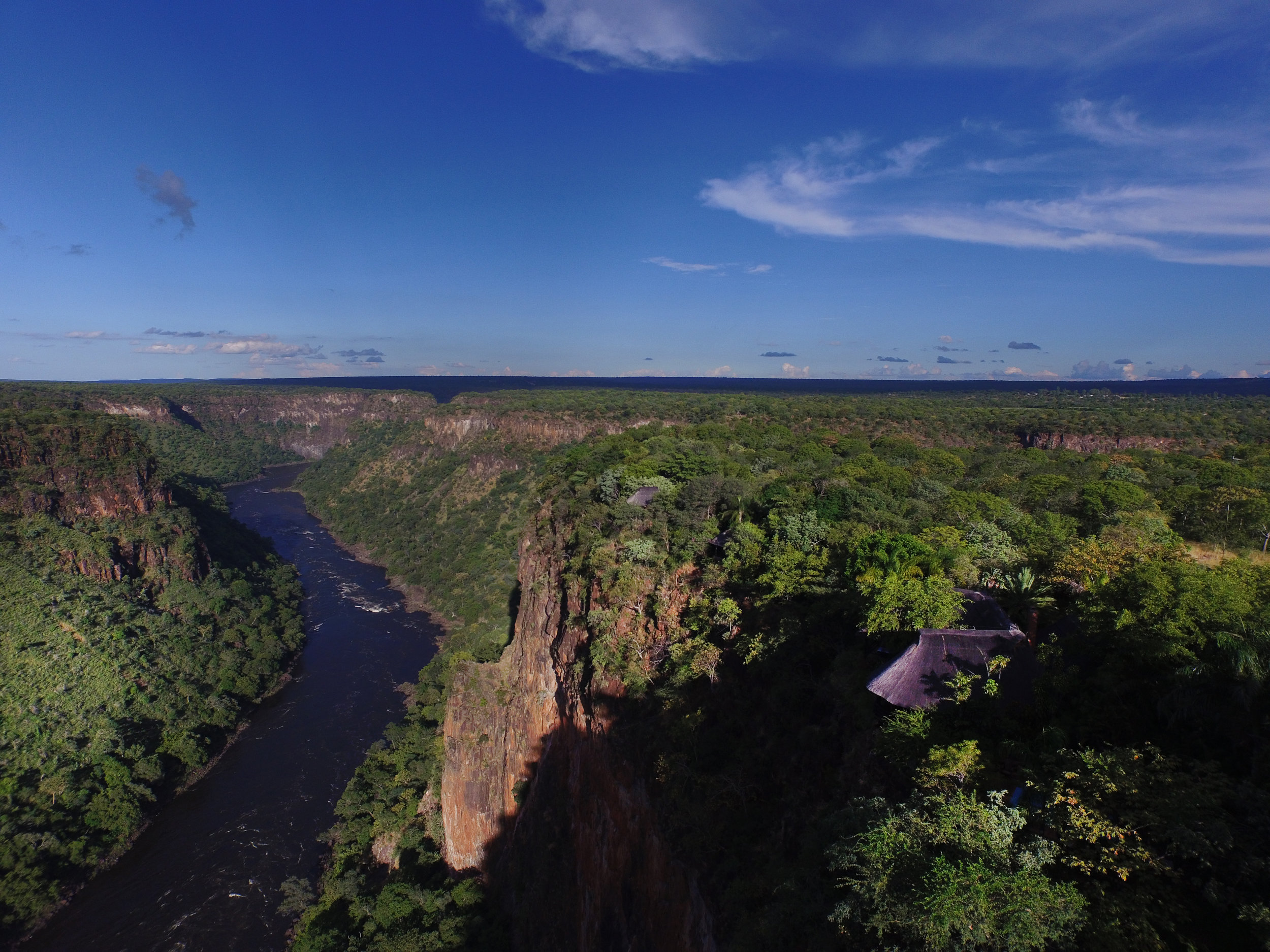 9a. Imvelo Safari Lodges - Gorges Lodge - Arial View.JPG
