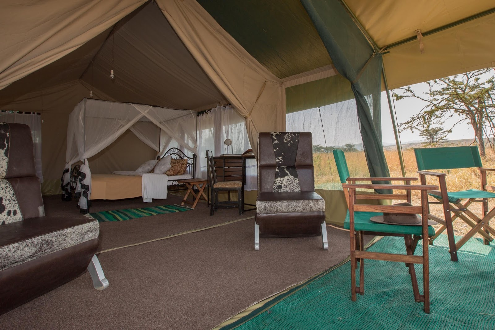Overnight: Tarangire Ndovu Tented Camp    Meals: B | L | D