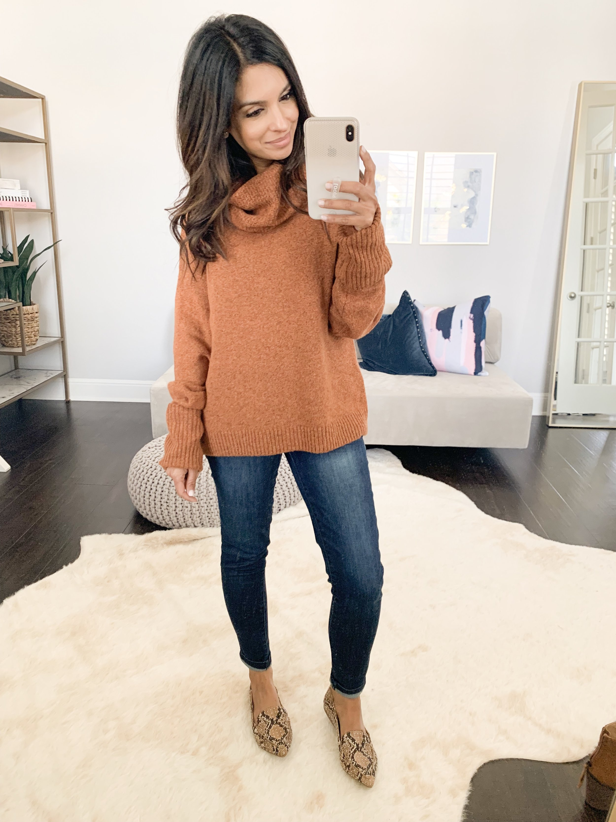 Sweater (XS)    //    Jeans (TTS)    //    Flats (TTS)