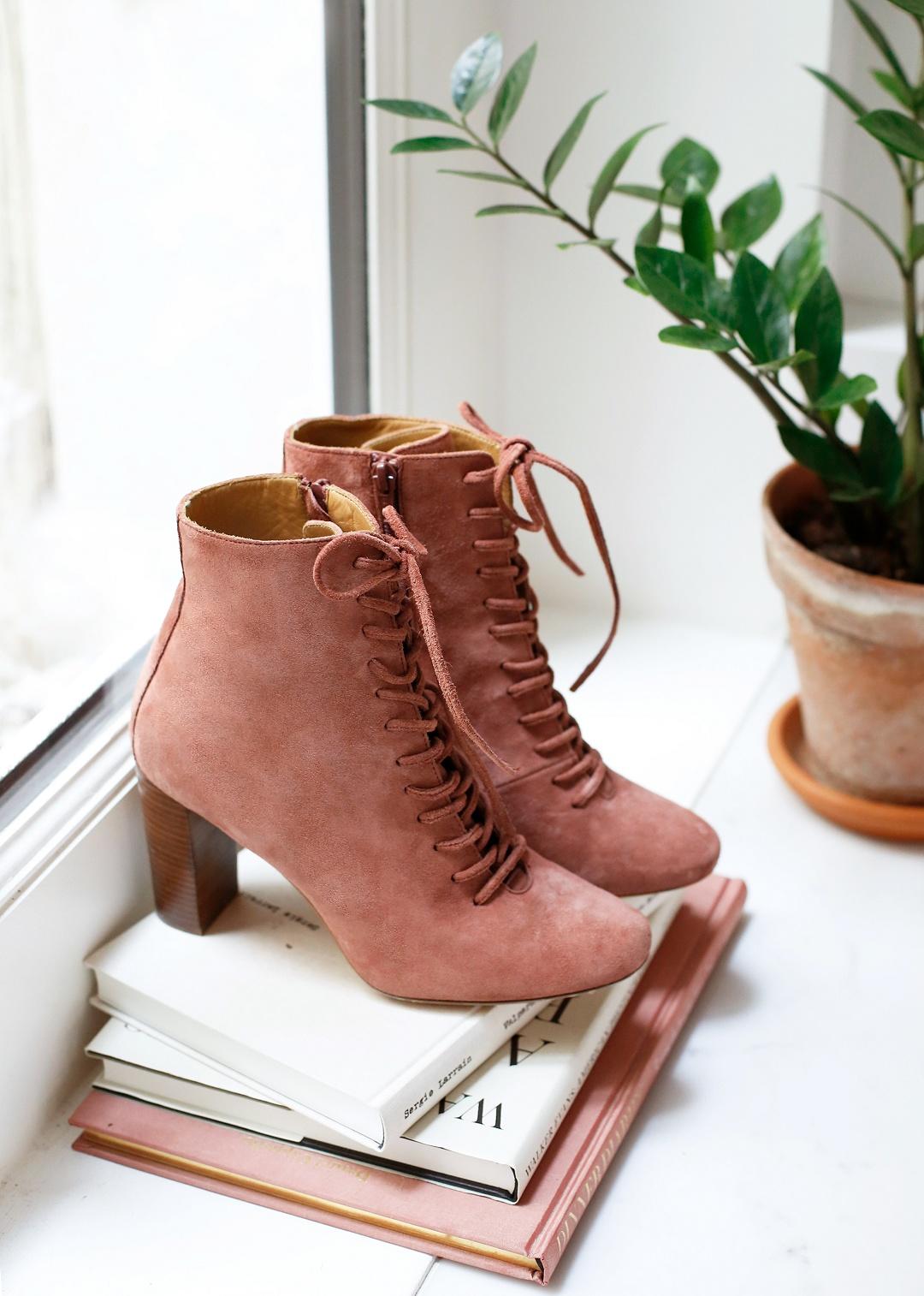 Wear amazing boots you will wear loads after the wedding! Sezane