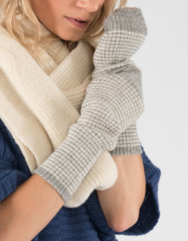 Soft and beautiful British Alpaca gloves to last a lifetime. A real christmas present treat from  Ally Bee knitwear.  There is also a fab knitted poncho on here.