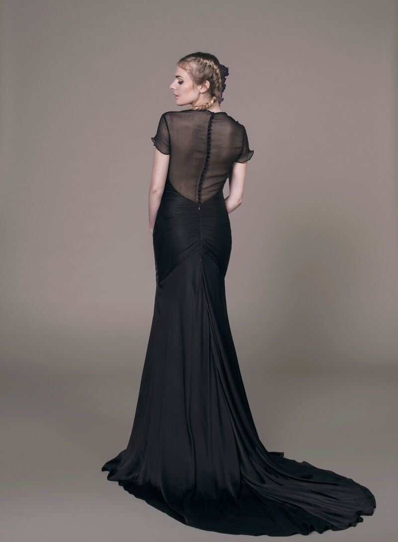Our  Sanyukta Shrestha  Elle dress comes in this stunning black too.