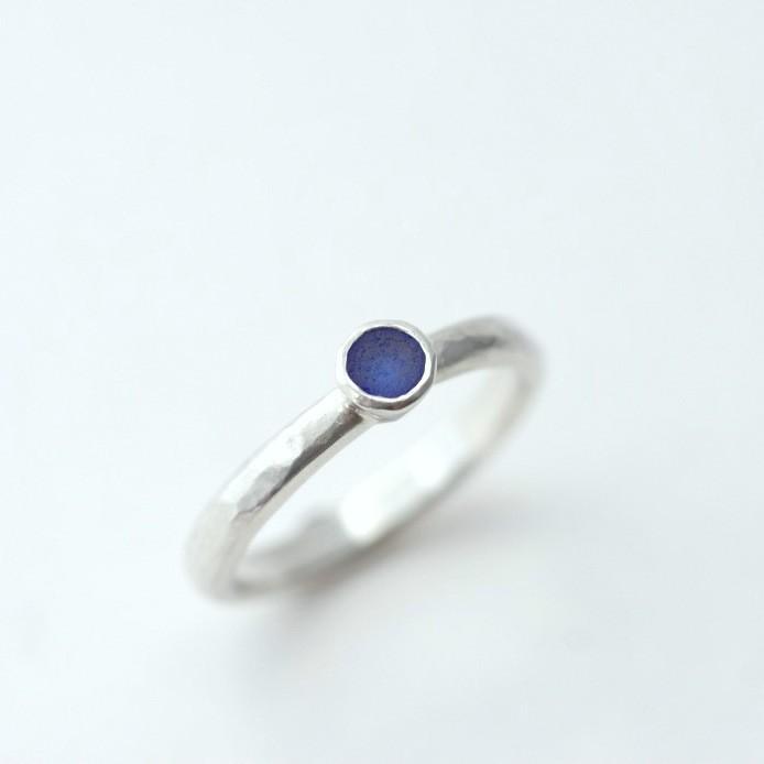 EMILKA SEA GLASS BLUE SEAGLASS RING.JPG