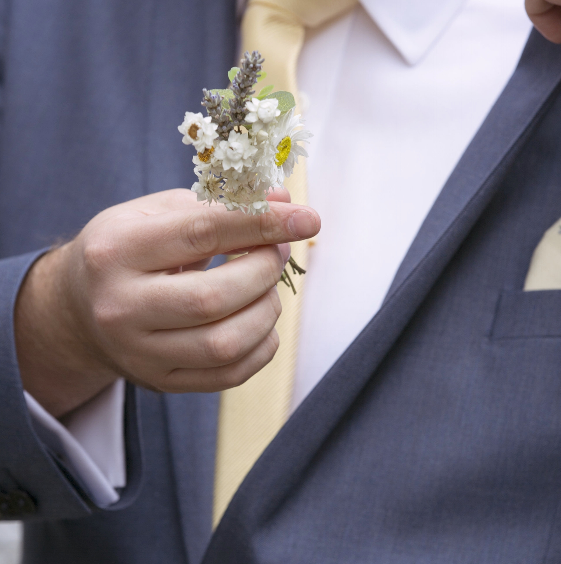 dried flowers button hole the conscious bride.jpg