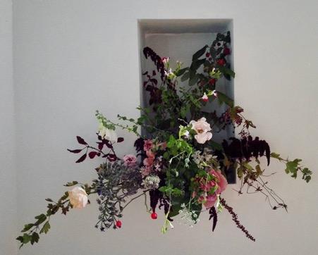 All British flower arrangement