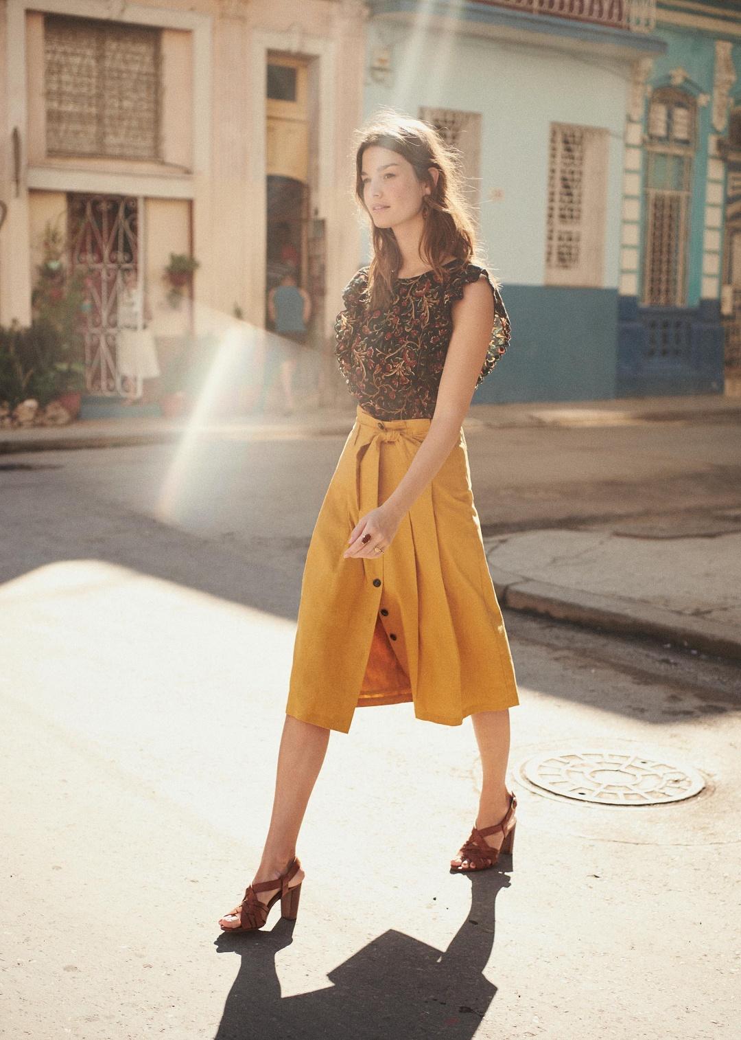 Amandine skirt from Sezane