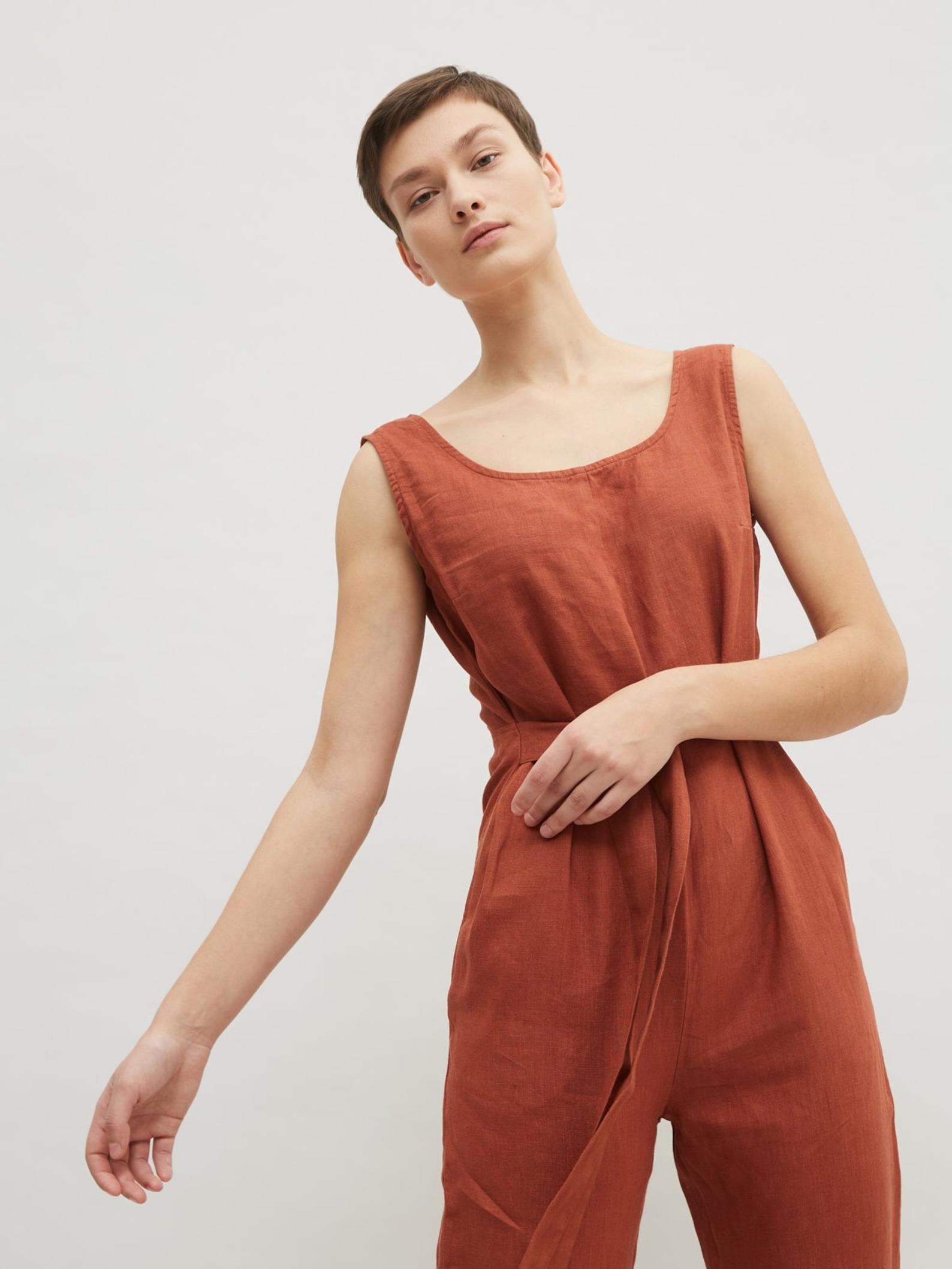 Linen Fox jumpsuit