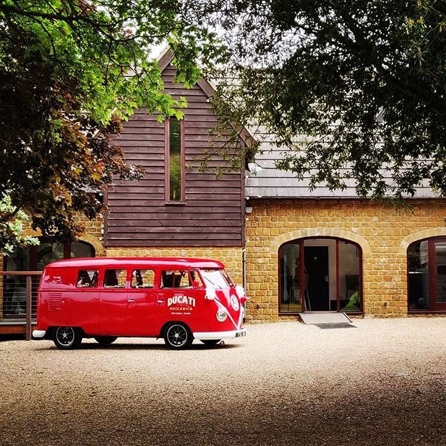 The Little Red Bus - Meet Rory, our 1971 ex German fire crew bus. Do you want something to make your wedding extra special and unique? Then hire this classic as your wedding vehicle for the Bridal party or Groom's mens ride, with complementary champagne, non-alcoholic fizz or cider and beer! Fully decorated in the colours of your day. Sit back, relax and enjoy the ride !
