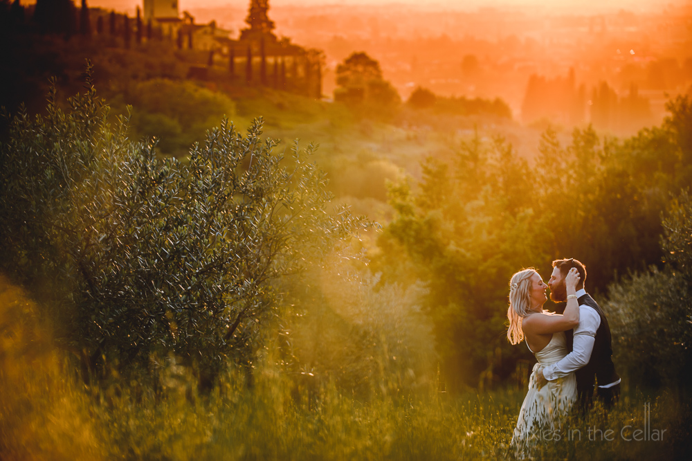 A Tuscan Dream - Stunning real wedding in Florence with an ethical Sanyukta Shrestha wedding dress.