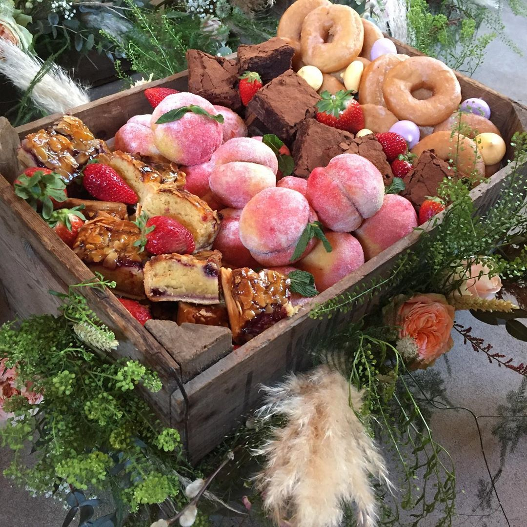 Boxed Weddings - We provide bespoke gourmet boxes filled with delicious seasonal home cooked local produce, and designed and decorated to your theme, to form the perfect centre piece for your tables. Free yourself and your guests from formalities and dive into apple crates filled with a fabulous feast that has been tailored to suit your tastes. They are beautifully decorated to fit your theme...beautiful flowers, feathers, shells, sparkles.......anything your heart desires.